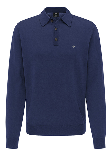 Polo blue long sleeve
