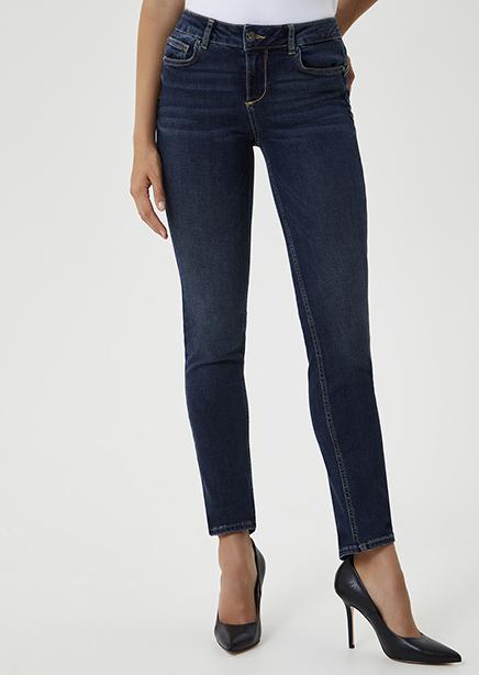Denim jeans dark blue