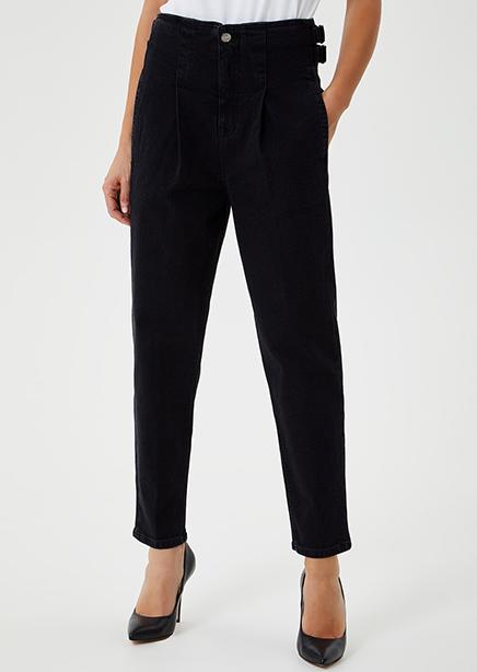 Denim jeans black