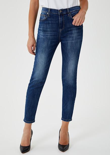 Denim Skinny Jeans Blue