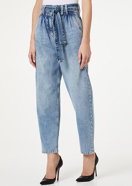 High Rise Jeans light blue