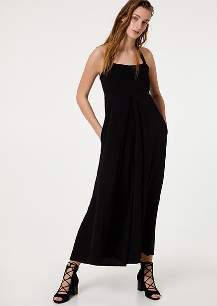 Jumpsuit black long