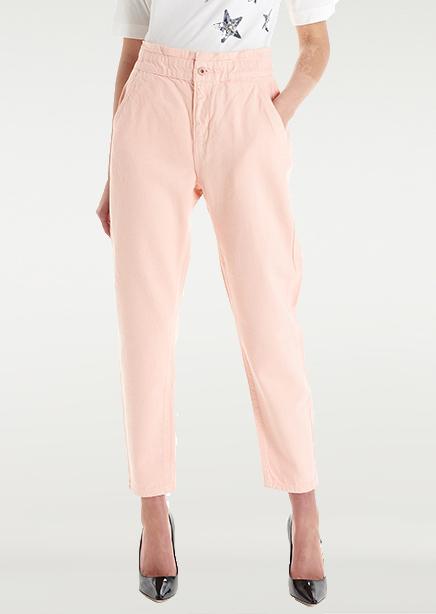 Jeans peach high rise