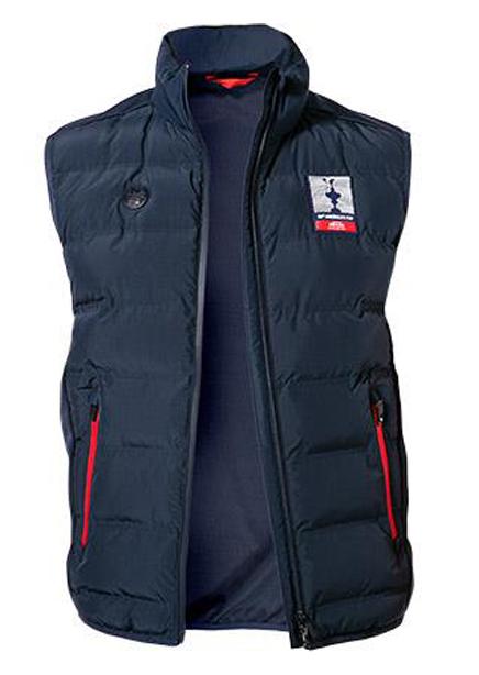Inflated waistcoat 65 cm dark blue