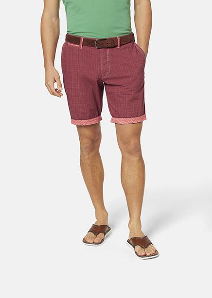 Bordeaux cage shorts
