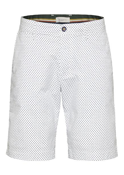 Shorts white microdesign