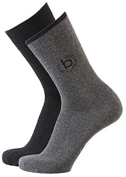 Set of socks with black+gray 2 pairs
