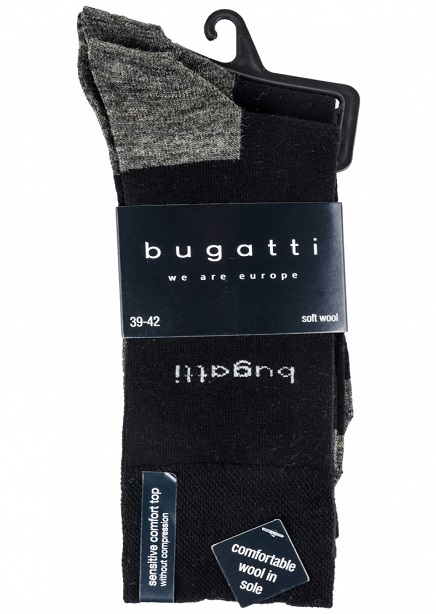Set of socks with black-gray 2 pairs