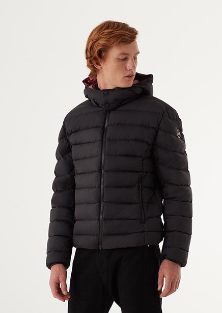 Down jacket dark blue