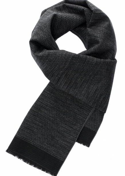 Scarf black-gray