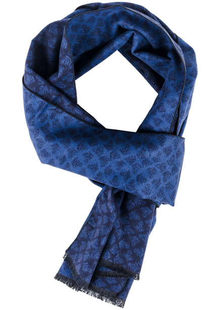 Scarf dark blue