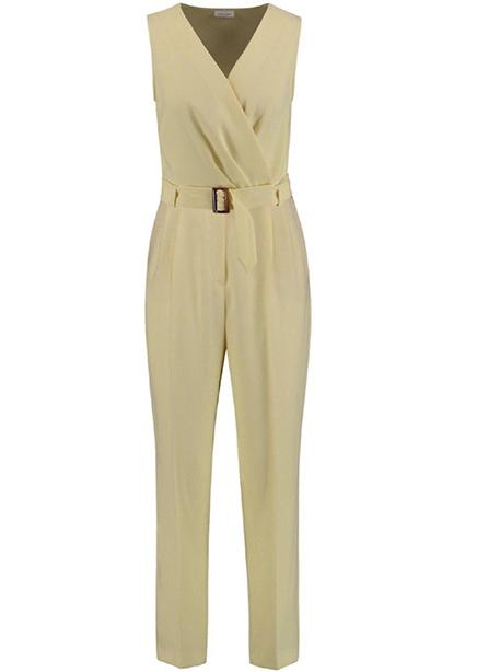 Jumpsuit maxi yellow