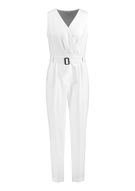 Overalls maxi b / r white