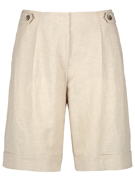 Midi shorts beige
