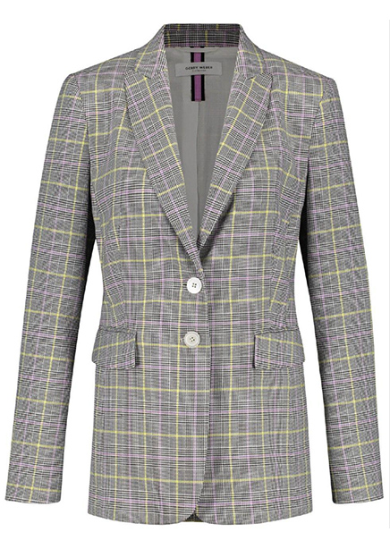 Suit jacket gray cage