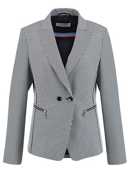 Jacket suit d. Blue cage