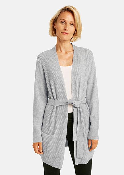Cardigan light gray
