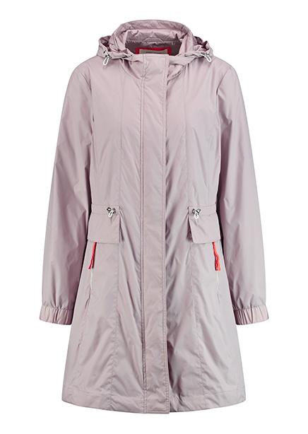 Cloak demi 90cm hood pink