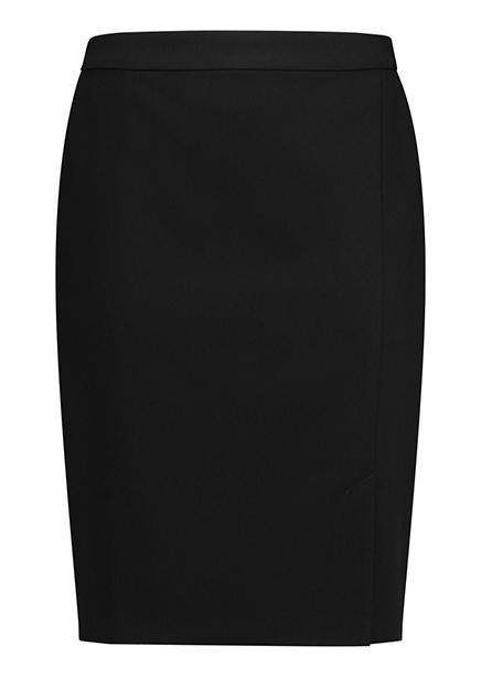 Midi black pencil skirt