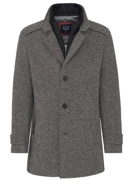 Lenardo Sporsman coat gray