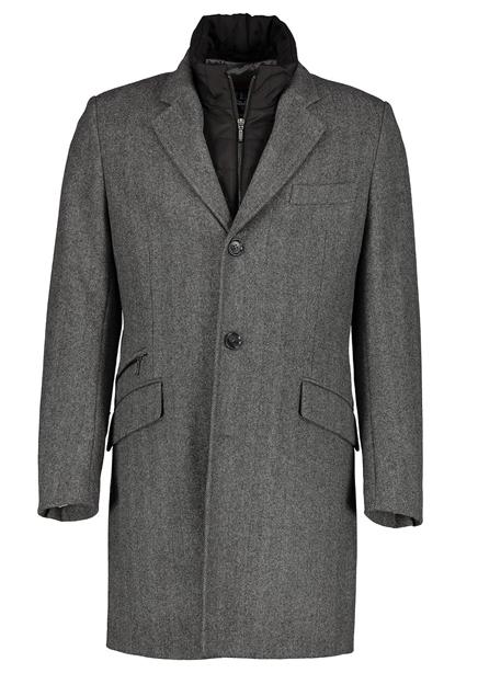 Gonzalo Lion coat gray