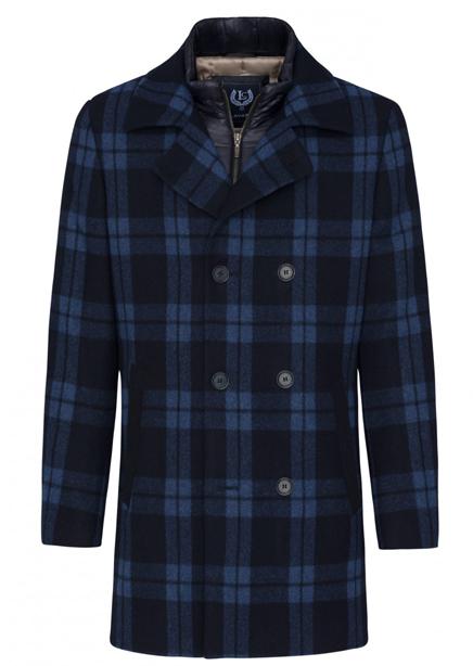 Henrich Blues coat blue