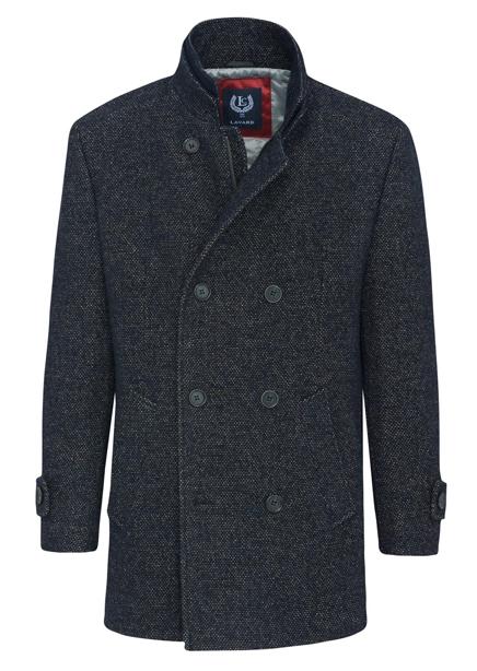 Ambrosio Luis coat navy blue