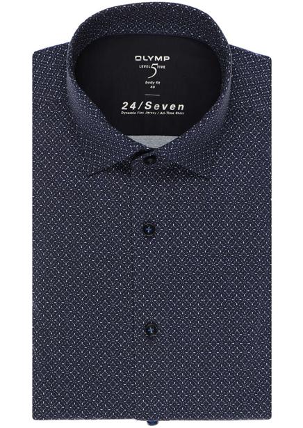 Shirt BF Kent 64 level 5 navy blue