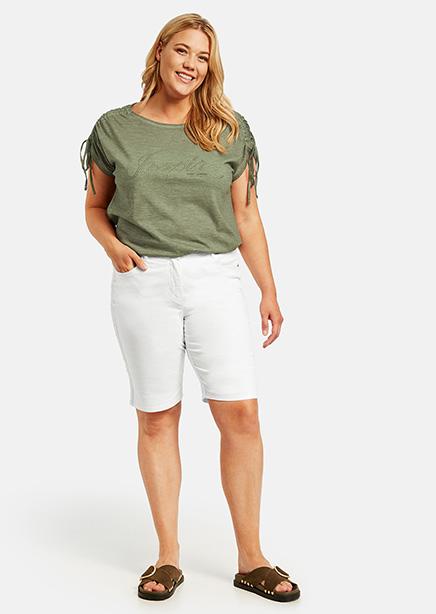 Betty shorts white