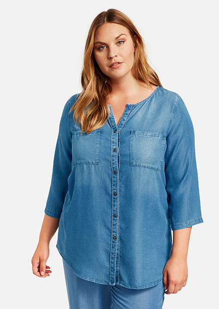 Shirt blue jeans