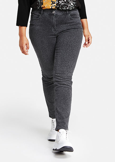 Jeans gray microdesign