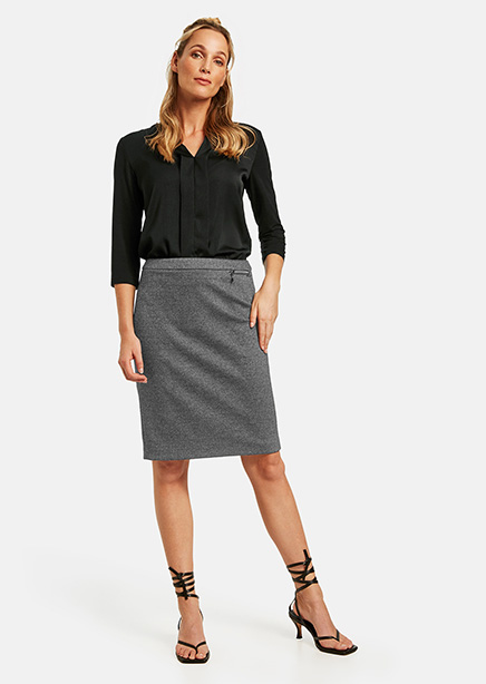 Skirt graphite microdesign